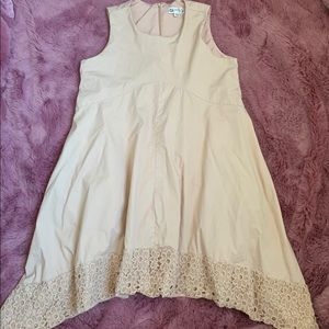 Nanette Lepore Blush Dress with Embroidery sz 12